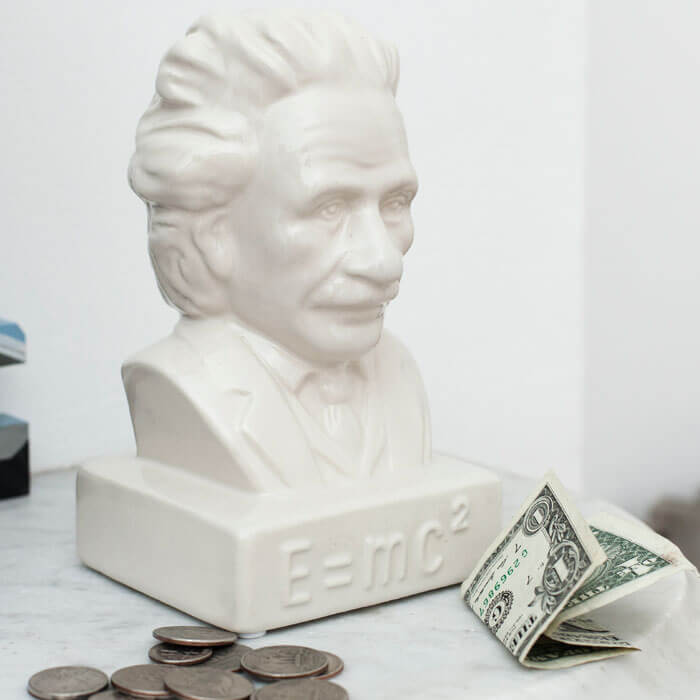 Einstein Coin Bank