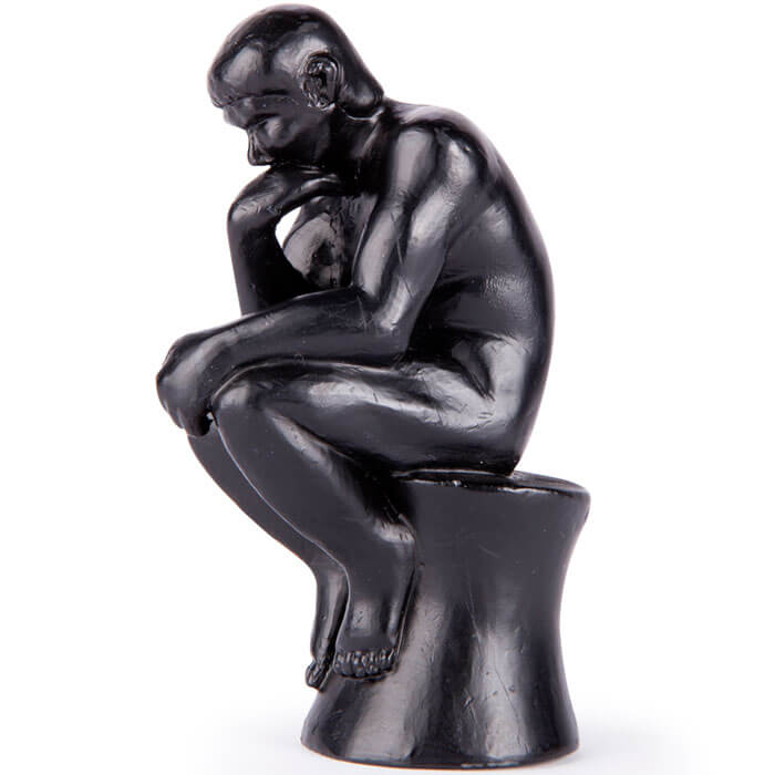 The Thinker Pencil Sharpener