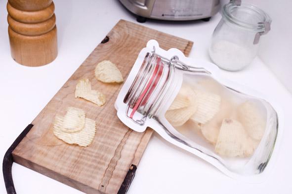 Frischhaltebeutel-Set Einweckglas