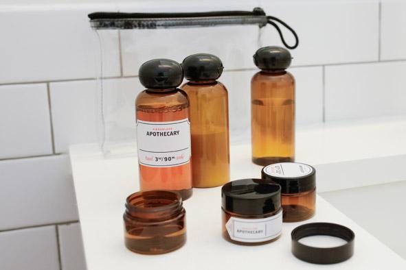 Reise-Flaschenset Apotheke