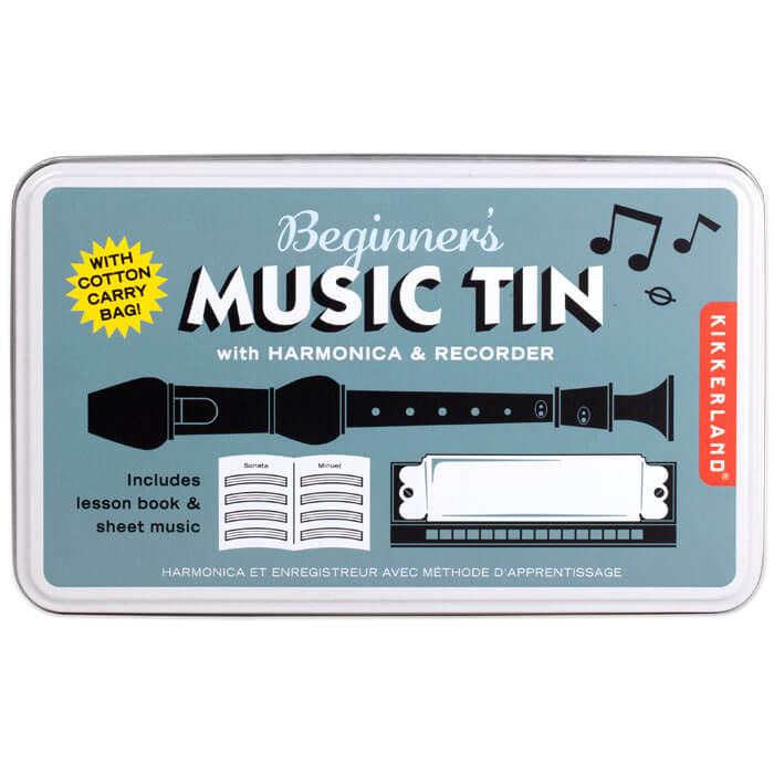 Beginners Music Tin