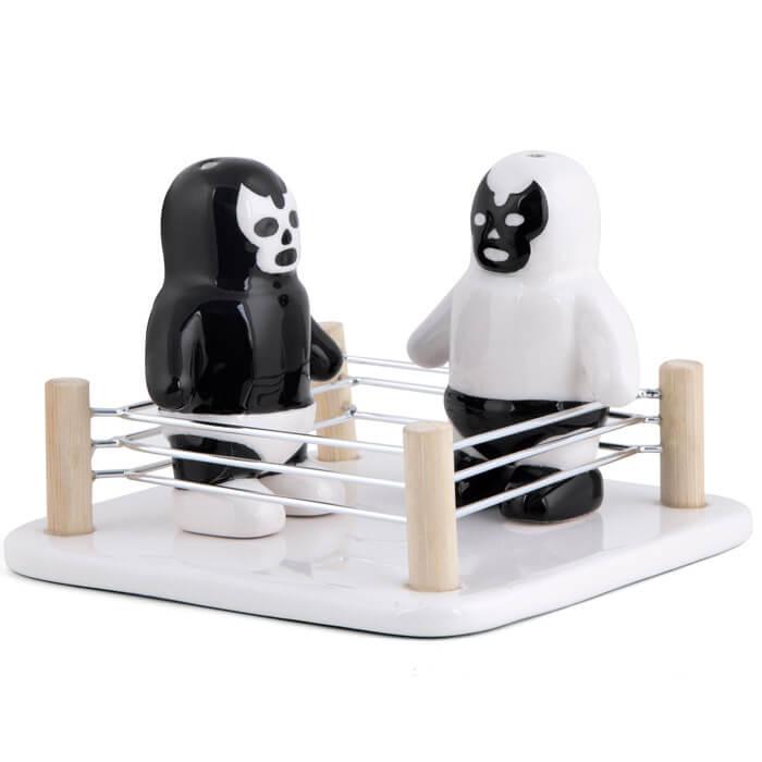 Luchador Salz & Pfefferstreuer