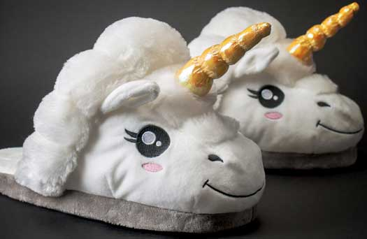 Magical Unicorn Slippers