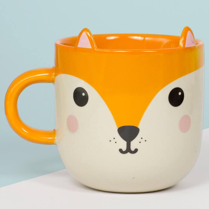Hiro Fox Kawaii Friends Mug