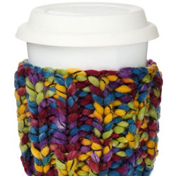 Take Out Cup Cosy Knit Kit