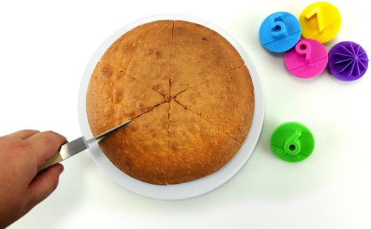 Cake slice marker - Party