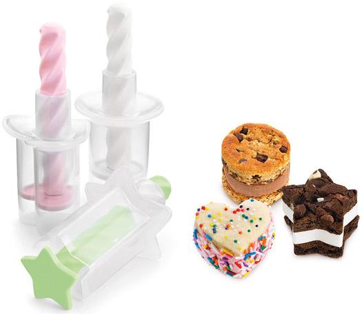 Mini-Eiscreme-Sandwichformer - 3er Set