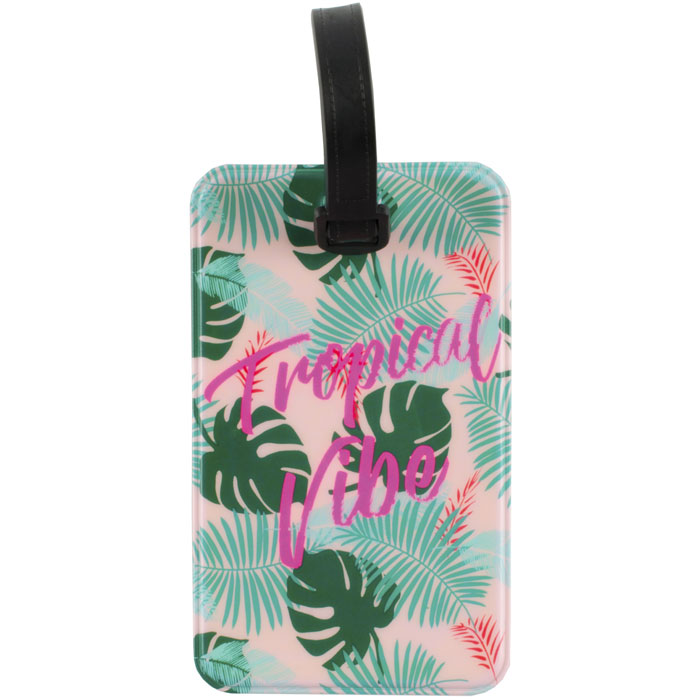 Luggage Tag Tropical Vibese Tag
