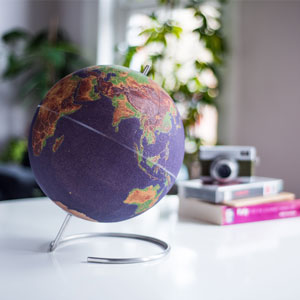 Coloured Cork Globe