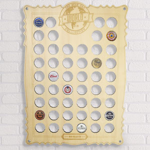 Beer Cap Collection Board