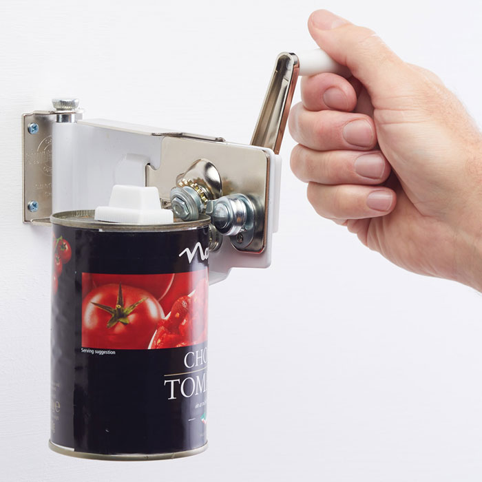 Wall Mounted Magnetic Can Opener