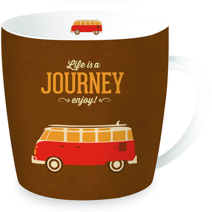 Life is a Journey Tasse