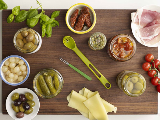 Antipasti-Besteck Scoop & Pick