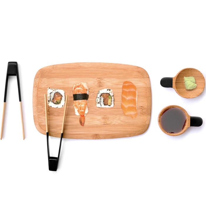 Sushi Servierset Bambus