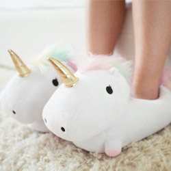Unicorn Light Up Slippers