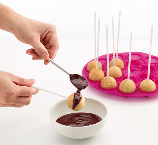 Cake Pops Silikon Backform
