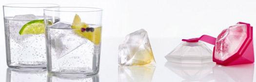 Eiswürfelform Diamant