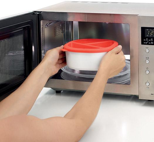 Microwave Choco Fondue