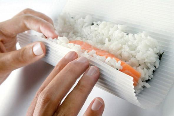 Sushi-Rollmatte aus Silikon