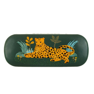 Leopard Safari Glasses Case