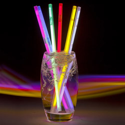 6 Glowing Straws