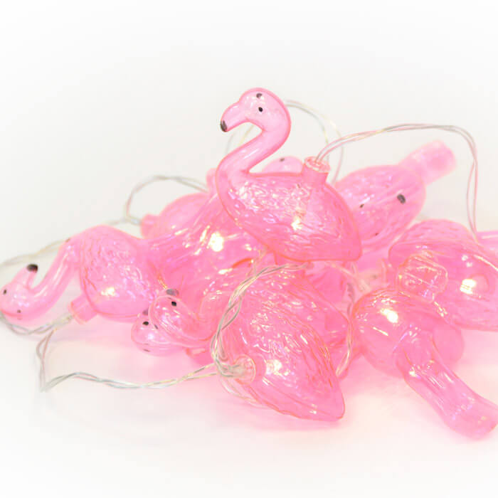 Flamingo Lichterkette
