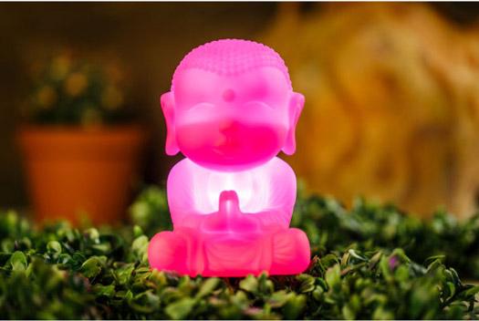 Buddha LED Lampe