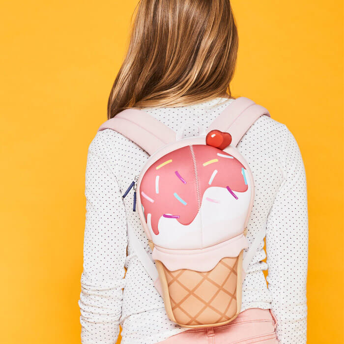 Ice Cream Kids Neoprene Back Pack