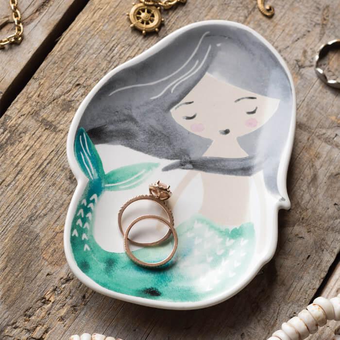 Schmuck-Tablett Meerjungfrau