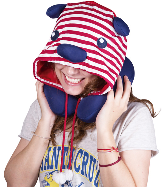 Neck Pillow with Cap Bear