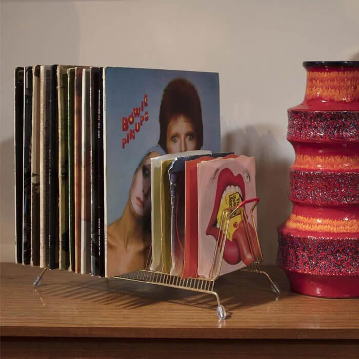 Schallplattenständer