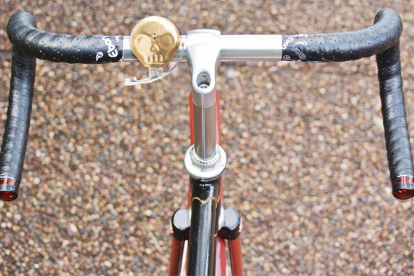 Fahrradklingel Totenkopf