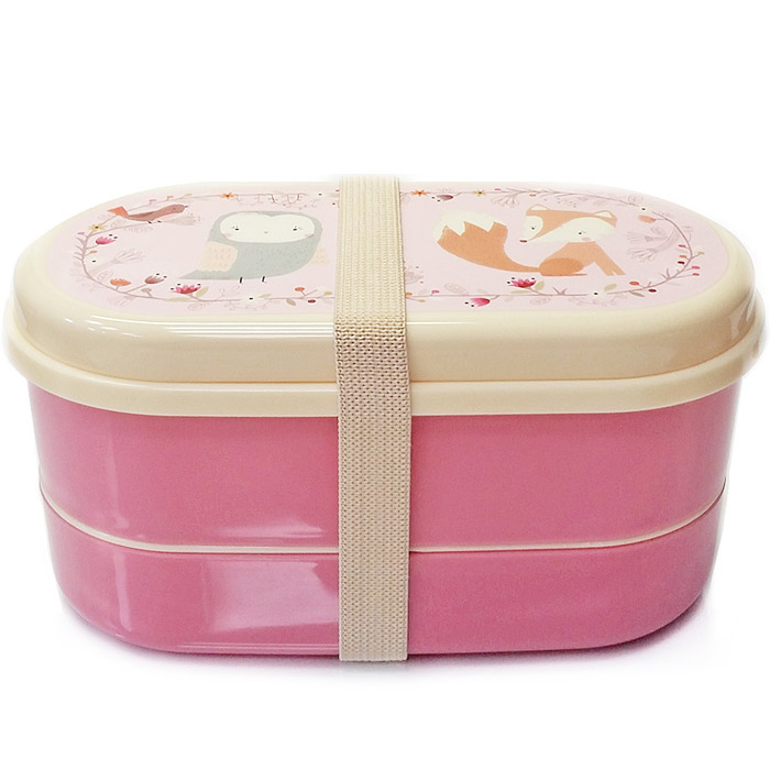 Woodland Friends Fox Bento Lunch Box