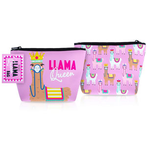 Llama Queen Cosmetic Bag