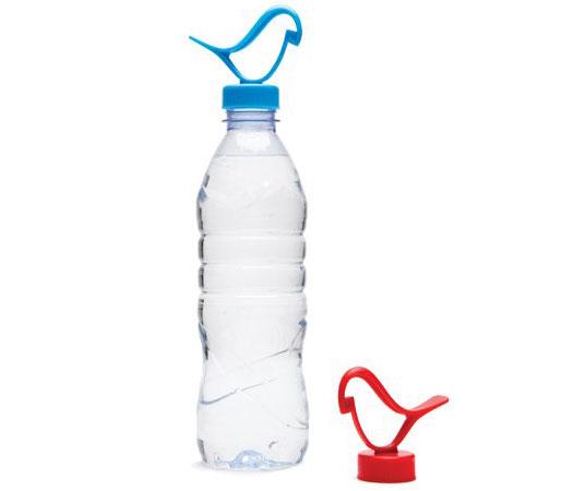 Flaschenverschluss Anhänger Vogel