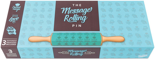 Message Rolling Pin Gift Box