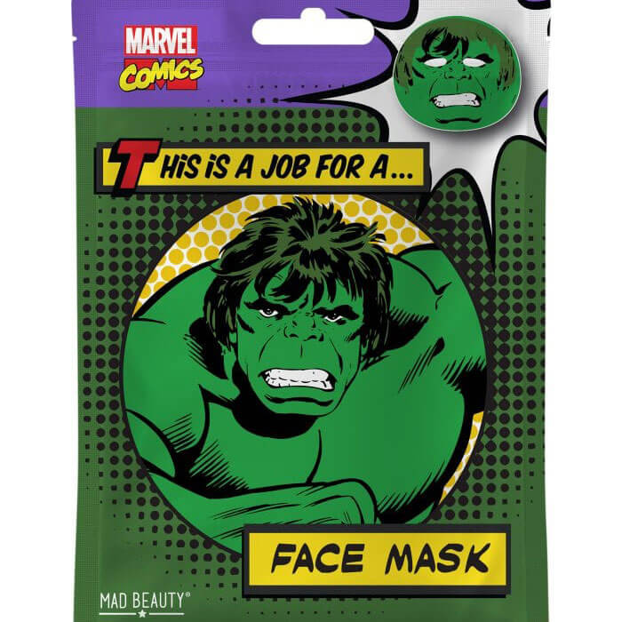 Hulk Sheet Face Mask