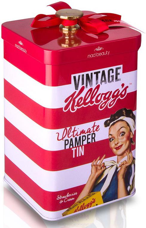 Kellogg's Vintage Pamper Tin