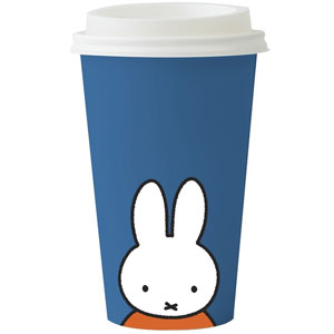 Bicchiere Take Away in Bambù Miffy