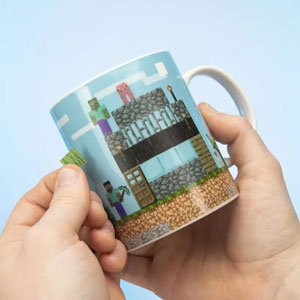 Tazza Minecraft Build a Level