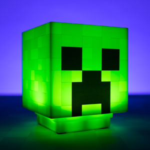 Lampada Minecraft Creeper