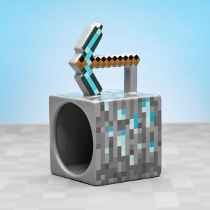 Minecraft Pickaxe Mug