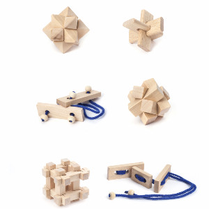 Fidget Matchbox Wood Puzzle