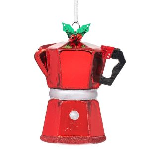 Coffee Pot Shaped Bauble