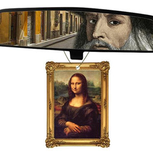 Mona Lisa Air Freshener