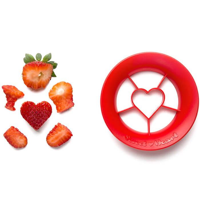 Erdbeerausstecher Herz