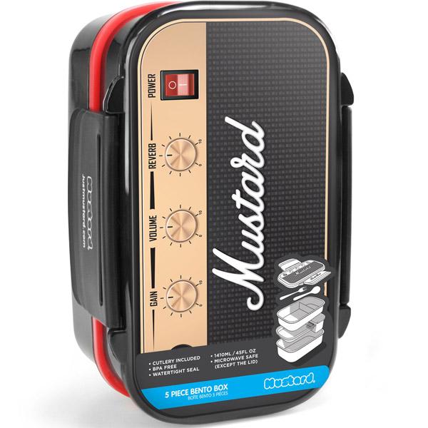 Rock Box Guitar Amplifier Shaped Bento Box