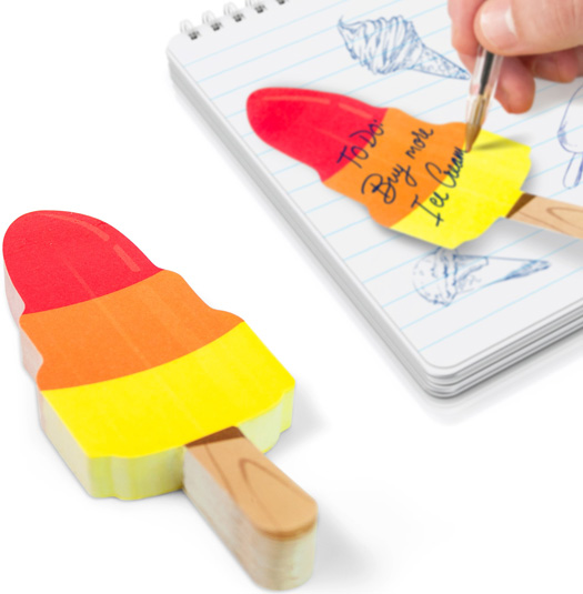 Sticky Notes - Ice Cream Rocket