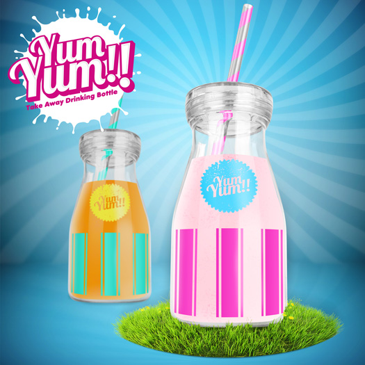 Yum Yum!! Trinkflasche