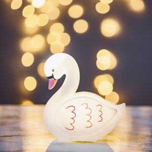 Swan Night Light